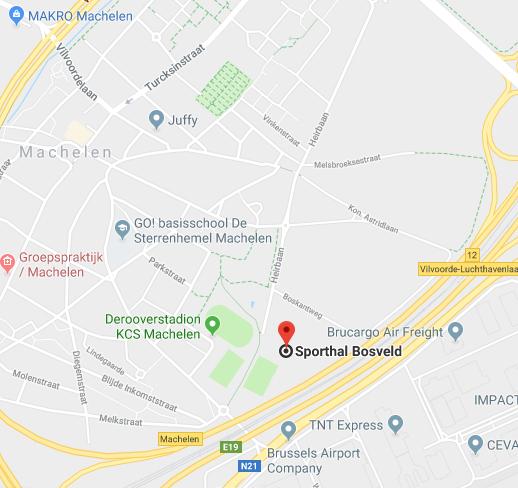 Sporthal Bosveld, Heirbaan 10, 1830 Machelen